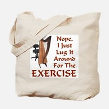 Harp for the Exercise Tote Bag