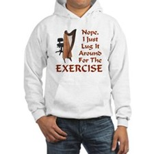 Harp for the Exercise Hoodie