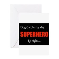dog catcher Greeting Card