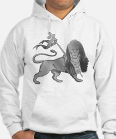New Image Rasta Lion Design Apparel Hoodie