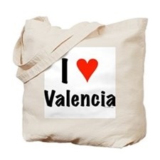 I love Valencia Tote Bag