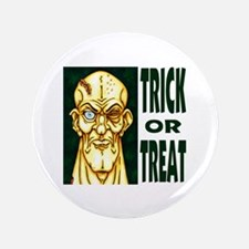 "Trick or Treat Zombie Dude 3.5"" Button"