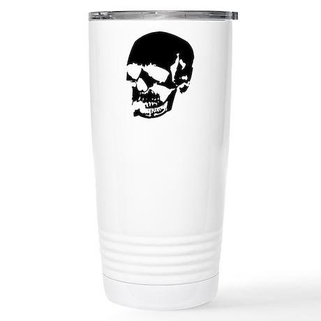 Vintage Skull #2 Stainless Steel Travel Mug