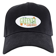 Green Bike Commuter Baseball Hat