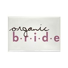Organic Bride Rectangle Magnet