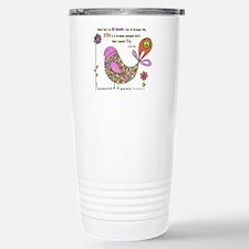 Langston Hughes Peacebird Travel Mug