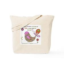 Langston Hughes Peacebird Tote Bag