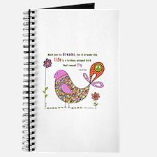 Langston Hughes Peacebird Journal