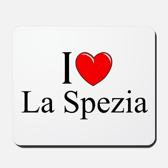 """I Love (Heart) La Spezia"" Mousepad"