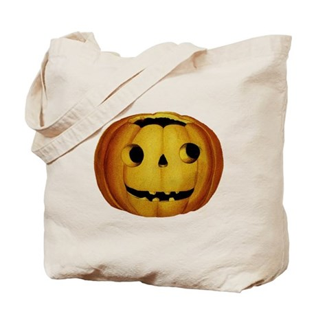 Vintage Jack O Lantern Tote Bag