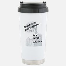 Great O.R. Nurse Stainless Steel Travel Mug