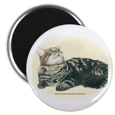 "Maine Coon 2.25"" Magnet (100 pack)"
