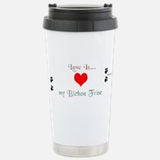 Bichon Love Travel Mug