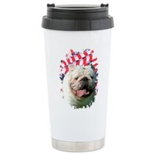 Bulldog 7 Travel Coffee Mug