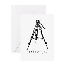Tripod - Stick it! Greeting Card