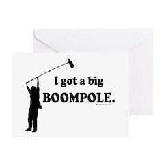 Big BOOMPOLE! Greeting Card