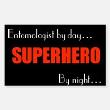 Entomologist Rectangle Decal