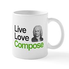 Bach's Live Love Compose Mug