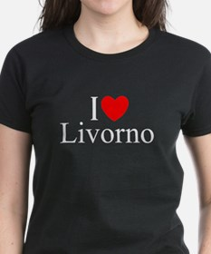 """I Love (Heart) Livorno"" Tee"