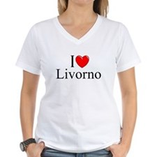 """I Love (Heart) Livorno"" Shirt"