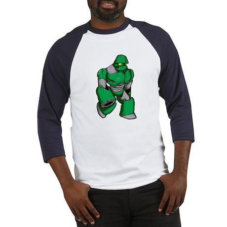 Robot Green Baseball Jersey