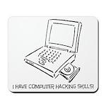 computer hacker Mousepad