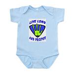 Live Long And Prosper Infant Creeper