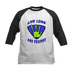 Live Long And Prosper Kids Baseball Jersey