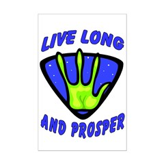 Live Long And Prosper Posters