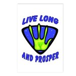 Live Long And Prosper Postcards (Package of 8)