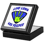 Live Long And Prosper Keepsake Box
