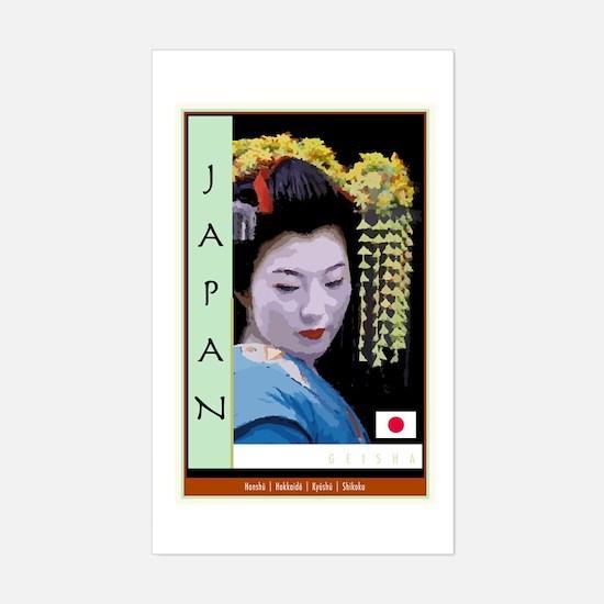Japan Rectangle Decal
