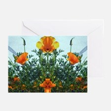 Mirrored Poppies Greeting Cards (Pk of 10)