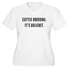 Cattle Breeding is Bullshit T-Shirt