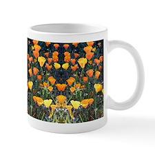 Mirrored Poppies II Mug