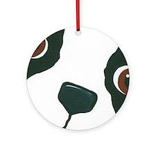 Boston Face Ornament (Round)