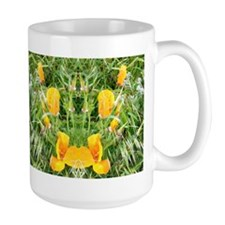 Mirrored Poppies IIII Mug