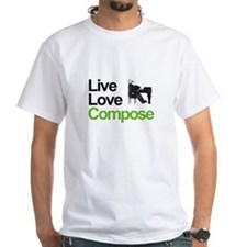 Brahms' Live Love Compose Shirt