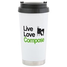 Brahms' Live Love Compose Travel Mug