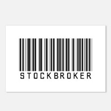Stockbroker Barcode Postcards (Package of 8)