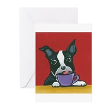 Java Boston Greeting Cards (Pk of 10)