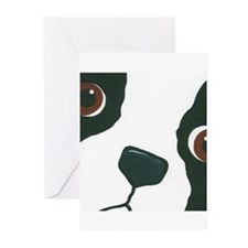 Boston Face Greeting Cards (Pk of 10)