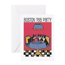 Boston Tea Party Greeting Card