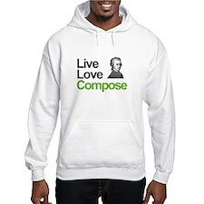 Mozart's Live Love Compose Hoodie