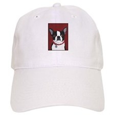 Boston on Red Baseball Cap