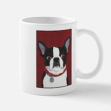 Boston on Red Mug