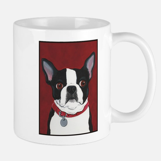 Boston on Red Mug