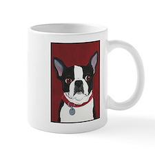 Boston on Red Small Mug