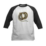Glass Lizard Snake Kids Baseball Jersey