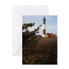 Cute Fire island Greeting Card